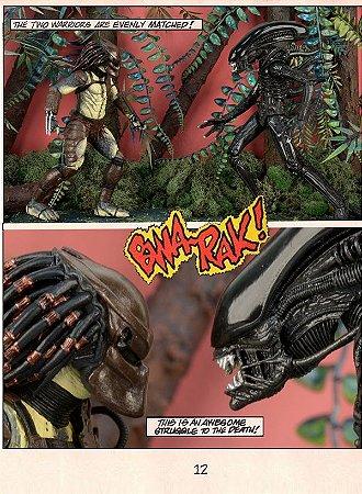 Alien Vs. Predator (Com Mini Comic) Pack 02 Figuras
