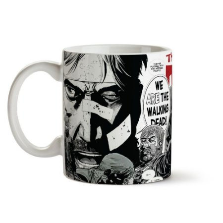 Caneca: The Walking Dead Comics