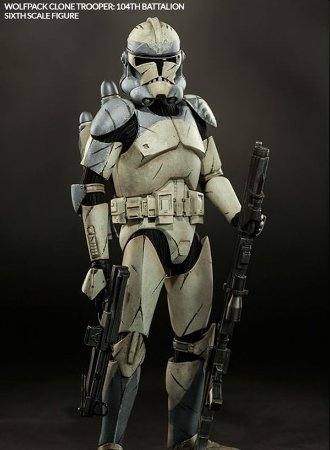 Wolfpack Clone Trooper 104th - Star Wars - Sideshow Collectibles