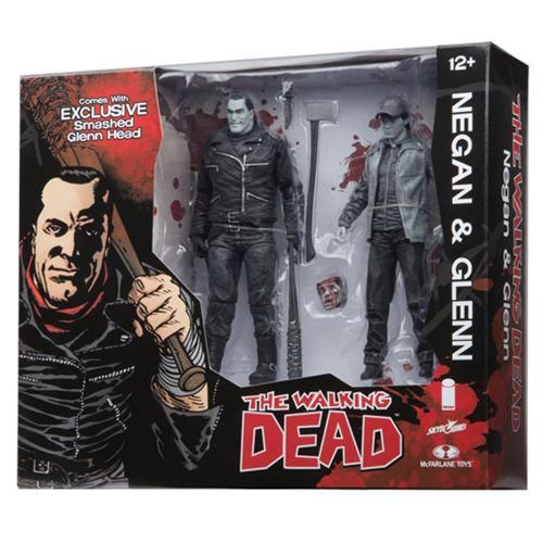 The Walking Dead : Negan and Glenn Black and White Action Figure 2-Pack (SDCC 2016 Exclusive)