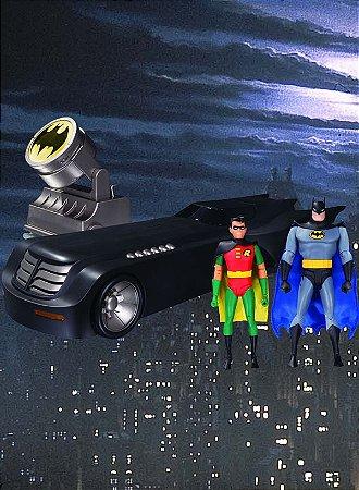 Batman Animated Batmobile with Batman & Robin - Deluxe Pack