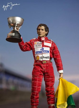 Ayrton Senna 1993 - 1/6 Live Legend