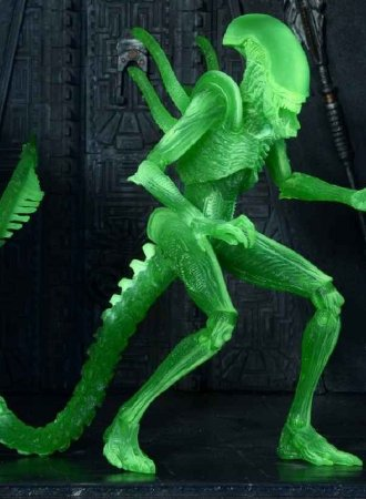 AvP Alien Warrior Thermal - Action Figure