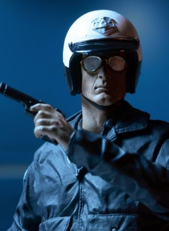 Terminator 2 Ultimate T-1000 (Motorcycle Cop) - Action Figure