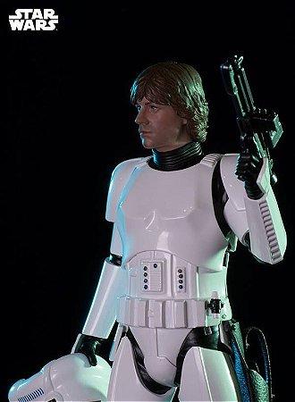 Luke Skywalker Disguise ver. Star Wars Serie 3 - 1/10 Art Scale