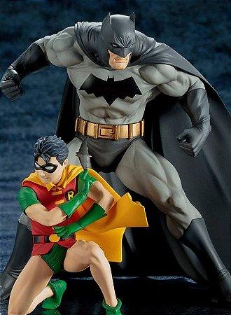 Batman & Robin, the Boy Wonder ArtFX+ Statue 2-Pack