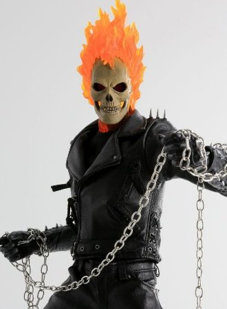 Carve Art Ghost Rider 1/6