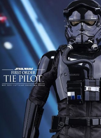Star Wars First Order Tie Pilot EP VII - 1/6 Figure