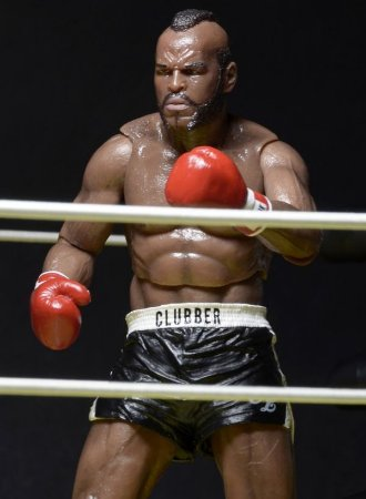 Clubber Lang (Black Trunks Ver.) - Rocky III - 40th Anniversary - NECA