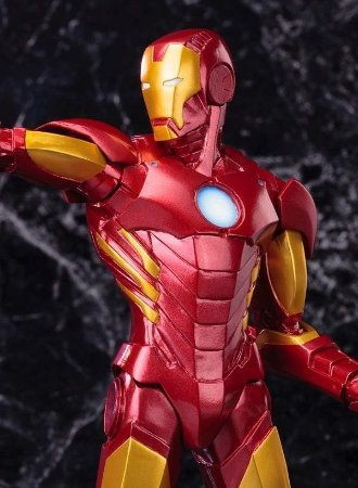 Marvel Now: Iron Man Red  Artfx Statue