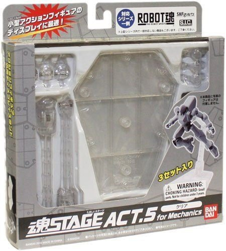 Tamashii Stage Act 5 (Clear) - Display