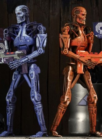 Robocop vs Terminator Endoskeleton (2 Pack)