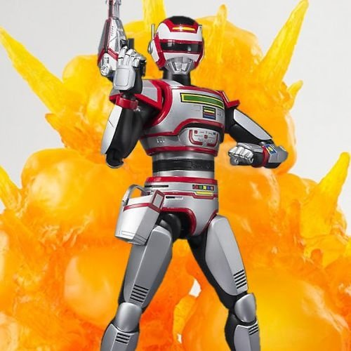 Combo Jaspion + Tamashii Effect Explosion Red
