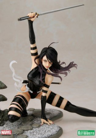 Marvel: X-Force Version Psylocke Ninja Outfit - Bishoujo