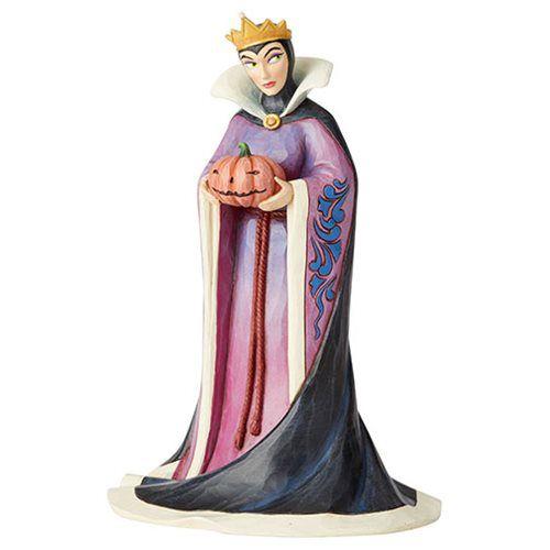 Disney Traditions:  Snow White Evil Queen Halloween Poison Pumpkin by Jim Shore Statue
