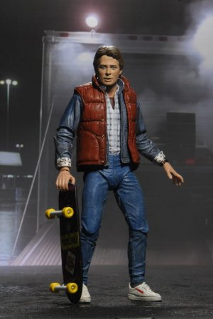 """Ulltimate Marty Mcfly 7"""" - Back to the Future - Neca"""