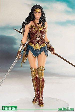 Justice League Movie Wonder Woman ArtFX+ Statue - Kotobukiya