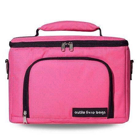 Bolsa Termica Rosa Pink Média