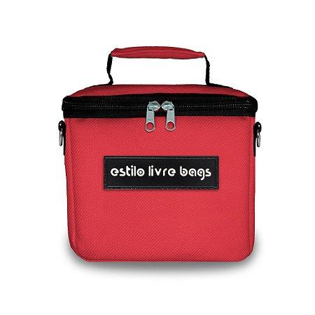 Bolsa Térmica Vermelha Mini
