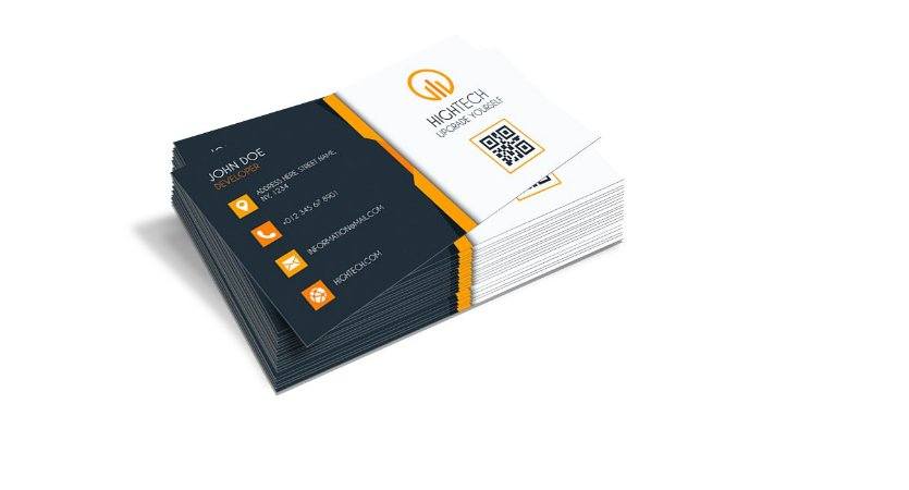 Cartão de Visita - Formato 9x5 cm - Papel Couche 300gr - 4x0 Cores