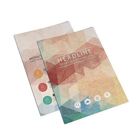 Flyer Panfleto - Formato 20x15 cm - Papel Couche 210gr - 4x4 Cores