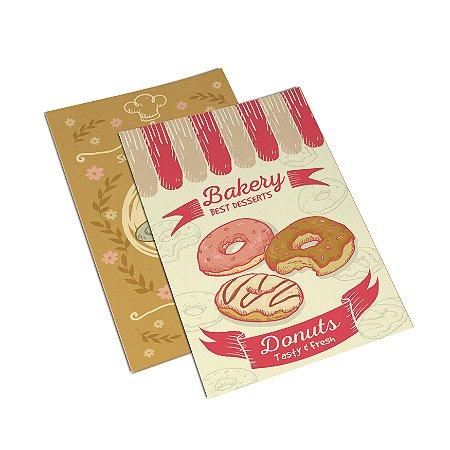 Flyer Panfleto - Formato 20x30 cm - Papel Couche 210gr - 4x4 Cores