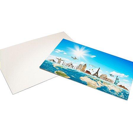Cartão Postal - Formato 10x15 cm - Papel Couche 300gr - 4x0 Cores