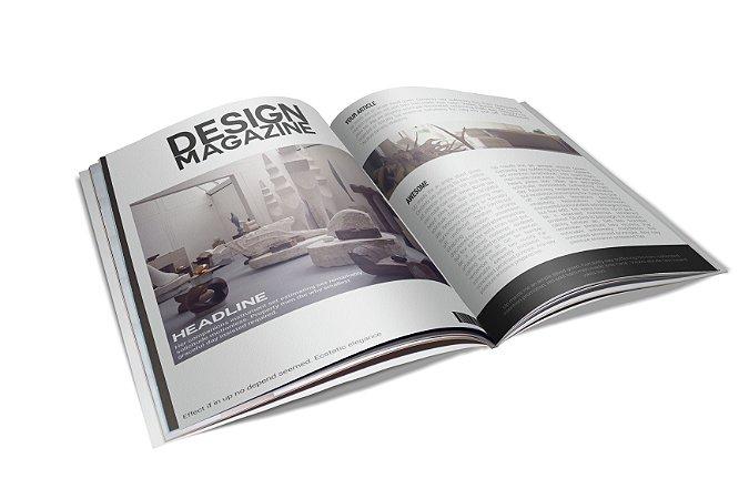 Revista Catálogo - Papel Couche 150gr