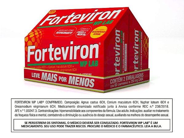 Forteviron WP Lab® - Leve Mais Por Menos - 2 caixas com 60 comprimidos