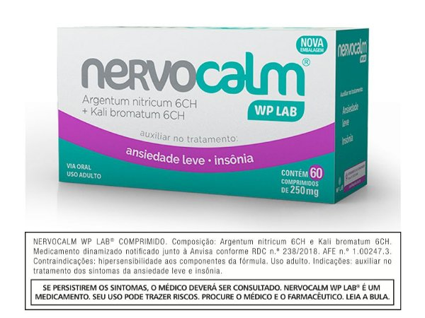 Nervocalm WP LAB® 60 Comprimidos