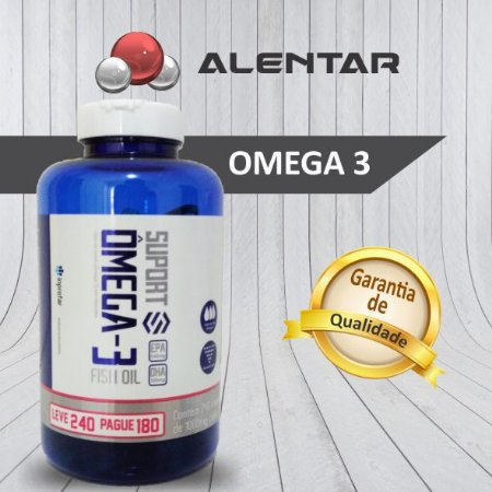 Ômega 3 - Ultra Pure Fish Oil - 240 capsulas de 1000mg cada
