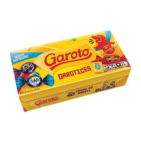 BOMBOM GAROTO 250GR SORTIDO