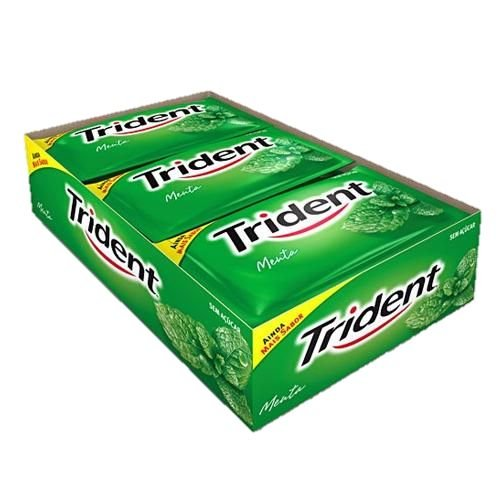 CHICLE TRIDENT C/21 SABORES