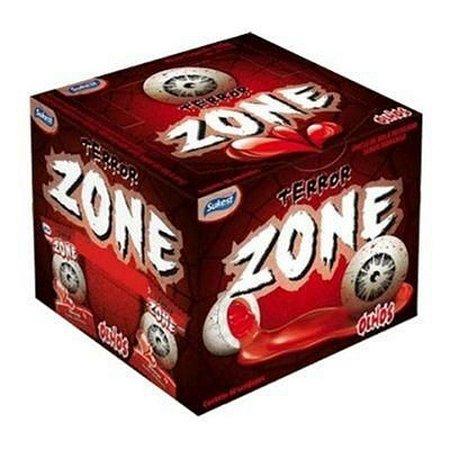 CHICLETE ZONE COM 40 MORANGO