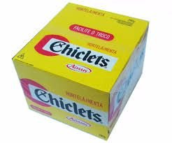 CHICLE ADAMS CHICLETS C/100 HORTELA