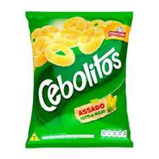 SALGADINHOS CEBOLITOS 60GR