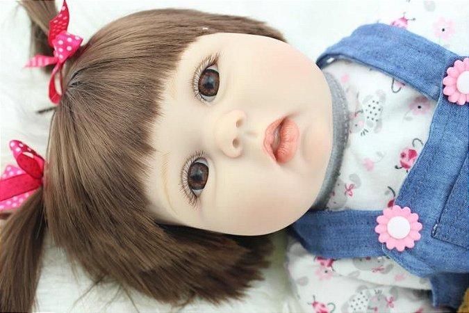 Bebê Reborn Resembling Laís - barriguinha de pano