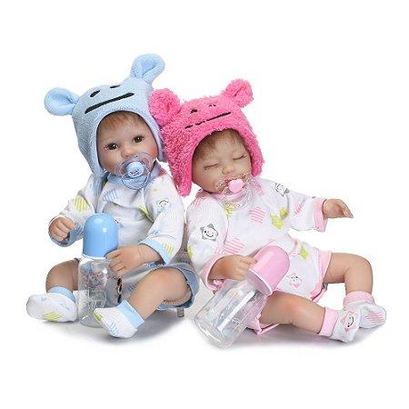 Bebê Reborn Resembling Gêmeos - Fernanda e Fernando