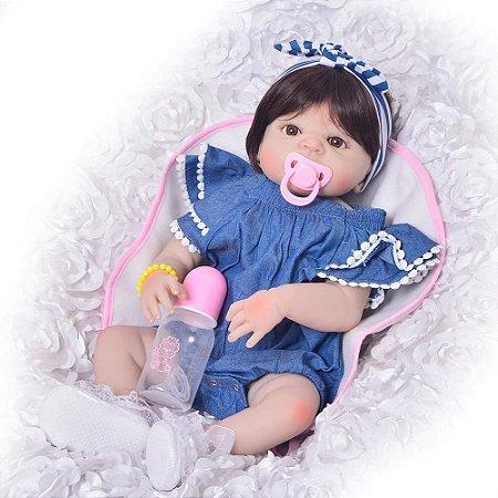 Bebê Reborn Resembling Blue