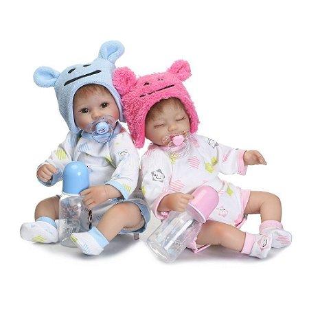 Bebê Reborn Resembling Gêmeos – Fernanda e Fernando