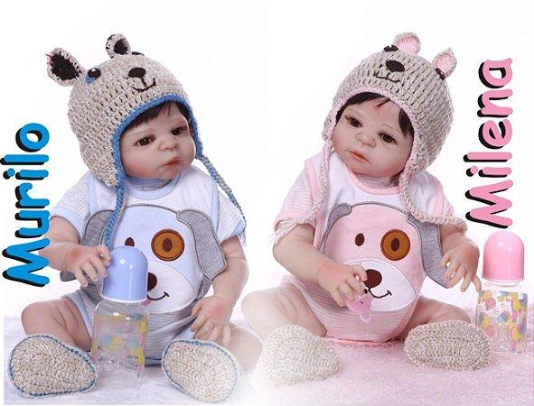 Bebê Reborn Resembling Gêmeos – Milena e Murilo