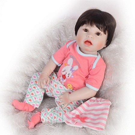 Bebês Reborn com síndrome do amor (Síndrome de Down)