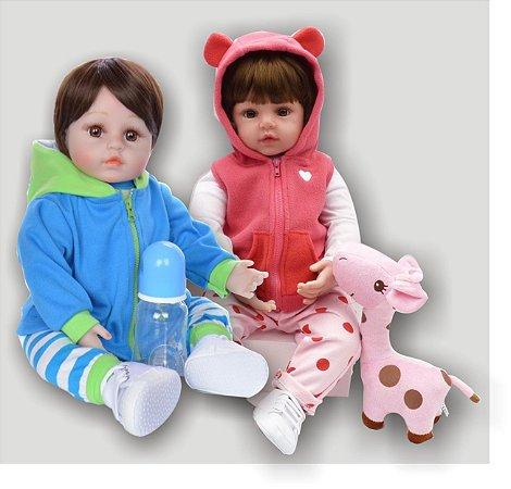 Bebês Reborn Resembling Gêmeos – Ayla e Allan