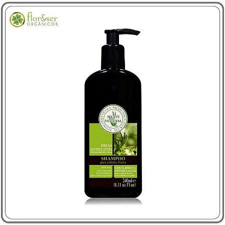 Shampoo Ervas Estimulantes Multivegetal - Fortalecimento Capilar