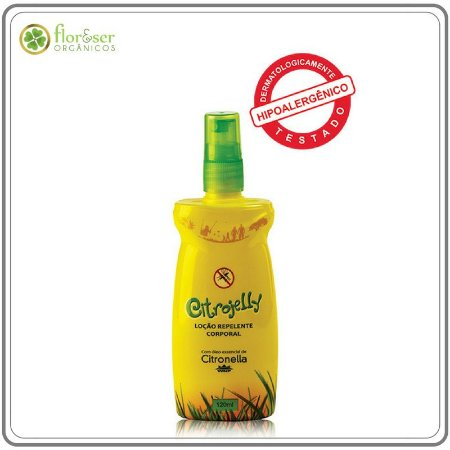 Repelente com Citronela Natural Citrojelly