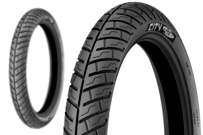 Pneu Michelin 100/90-18 City Pro com Câmara