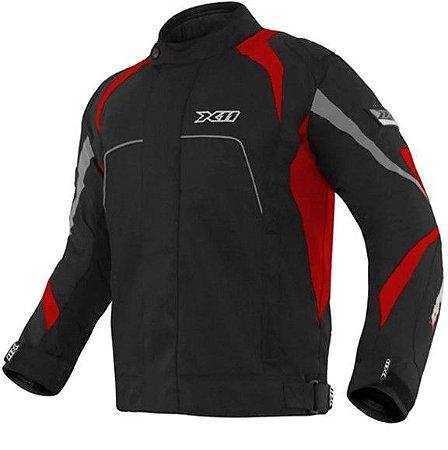 Jaqueta de Proteção One X11 - Preto e Vermelho