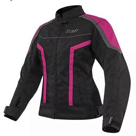 Jaqueta de Proteção One X11 - Preto e Rosa