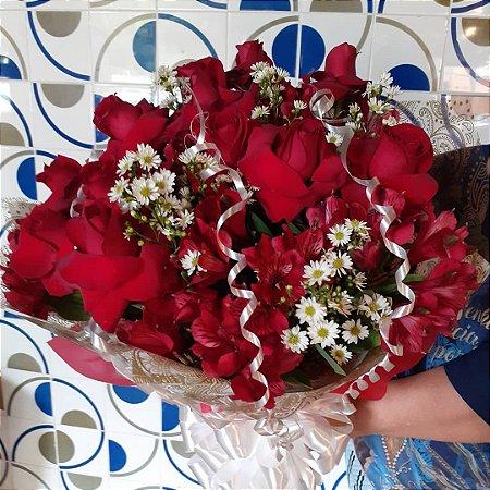 Boquer de rosas tradicional