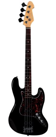 Contrabaixo Jazz Bass Michael BM607N Black Tortoise 4 Cordas